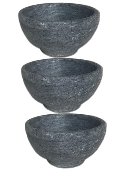kit Tigelas ou cumbucas em pedra sabão