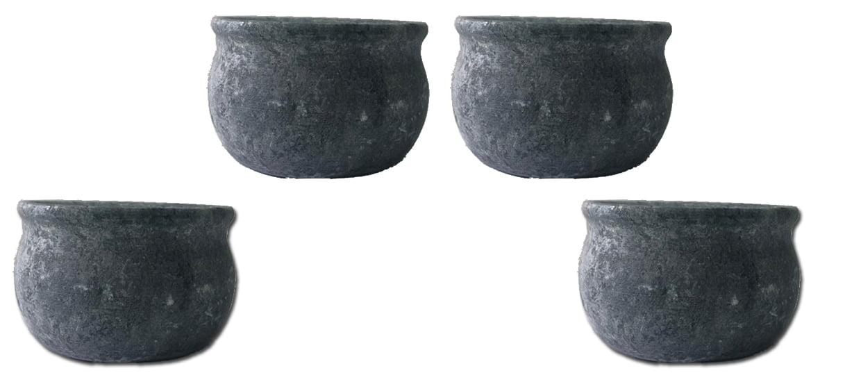 Tigela ou cumbuca em pedra sabão
