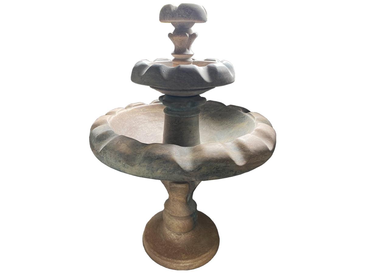 Fonte de pedra sabão Classica para jardim