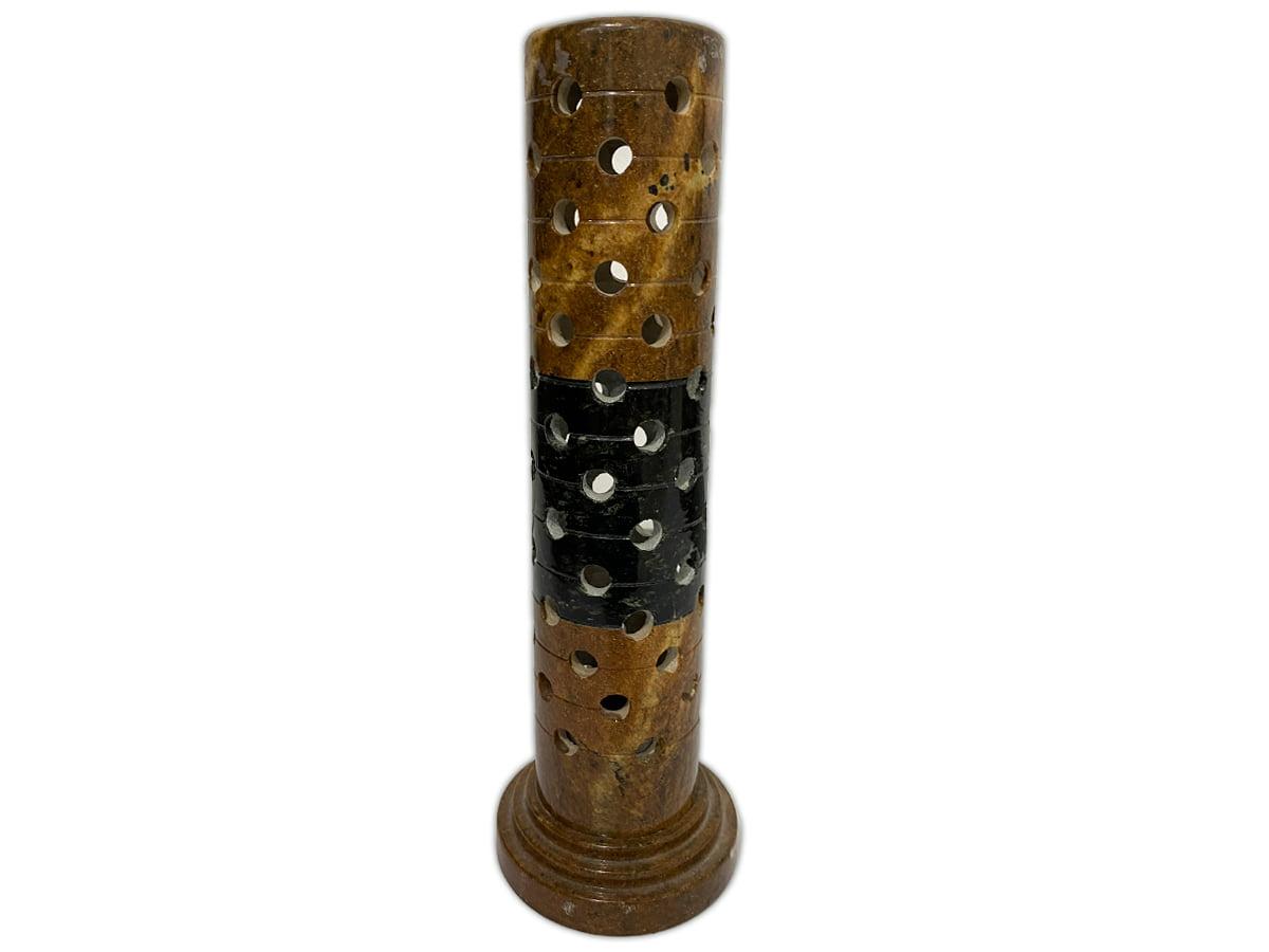Incensário de pedra sabão linda peça. entalhada a mão