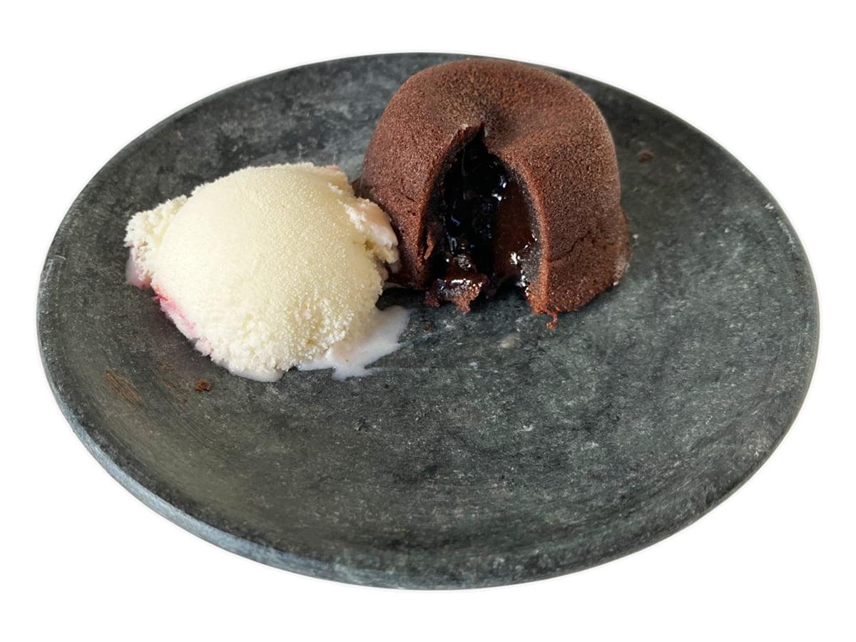 Prato de pedra sabão 15 centímetros de diâmetro ideal para sobremesas