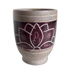 Copinho para cachaça e licores em pedra sabão