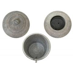 Filtro De Pedra Sabão Tradicional 12 Litros Completo