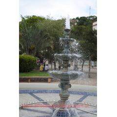 Fonte Cascata esculpida em Pedra Sabão com 2.30 Metros