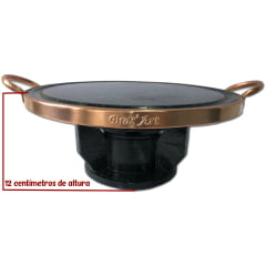 kit fondue 31 cm + panela de 1.5 L + Panela 800 ml