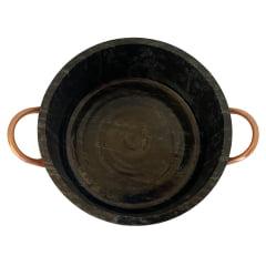 Panela de pedra sabão 1,5 litros reta