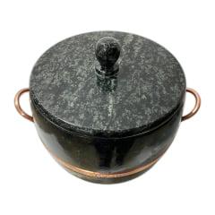 Panela caldeirão sinha  de pedra sabão  capacidade 6,5 litros
