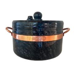 Panela de pressão de pedra sabão 4 litros