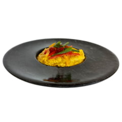 Kit 9 pratos chapéu invertido em pedra sabão